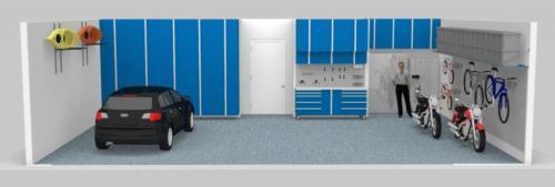 Blue-Cabinets-Garage