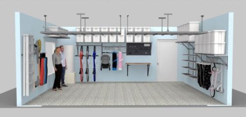 Blue-Garage