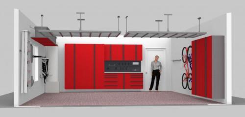 Red-Cabinets-Garage